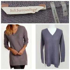 Soft Surroundings Olivia II Oversize Sweater Sz. M
